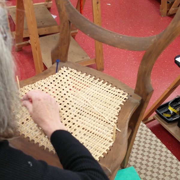 Chair Caning Sliding Box
