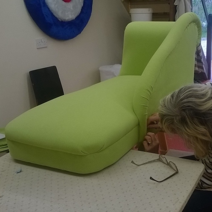 Make a Chaise Sliding Box