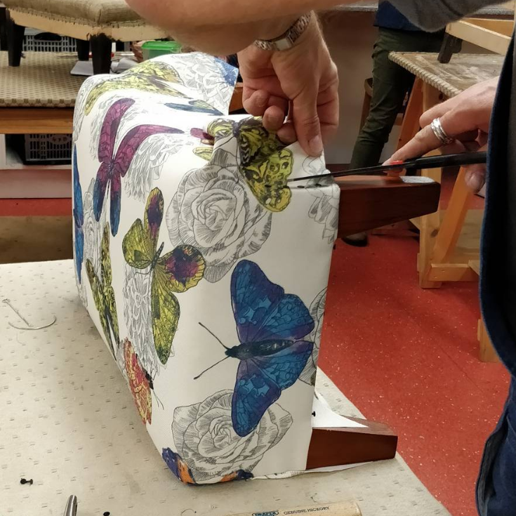 Upholstery one day class