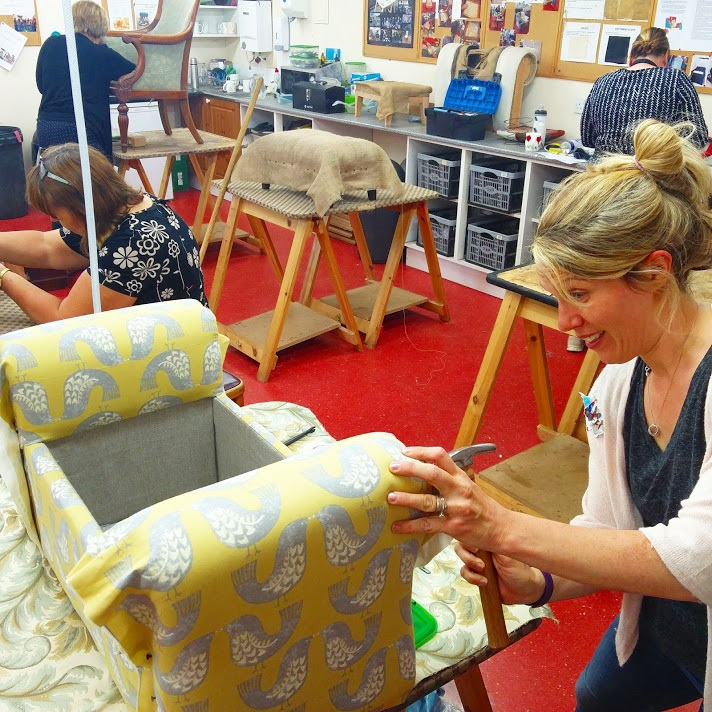 upholstery evening classes